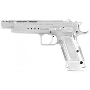 """EAA Witness.38 Super 18+1 6"""" Pistol in Chrome - 600095"""