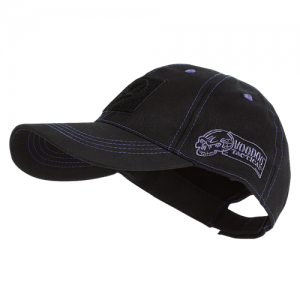 Voodoo Classic Cap in Black with Blue Stitching - One Size Fits Most