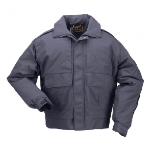 5.11 Tactical Signature Duty Men's Full Zip Coat in Dark Navy - 3X-Large