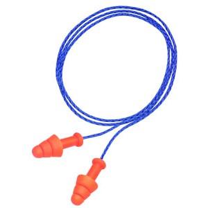 "Howard Leight ""Super Leight"" Smart Fit Earplugs Blue/Orange Color 2 Pairs R01520"