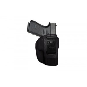 Tagua Iph4 4 In 1 Inside The Pant Holster, Fits S&w J-frame, Right Hand, Black Leather Iph4-710 - IPH4-710