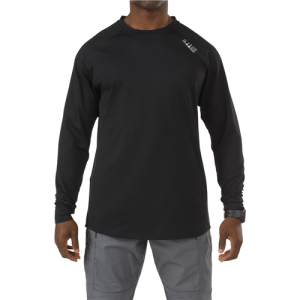 5.11 Tactical Sub-Z Crew Men's Compression Shirt in Black - Medium