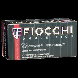 Fiocchi Ammunition Extrema Hunting .223 Remington/5.56 NATO V-Max, 50 Grain (50 Rounds) - 223HVA50