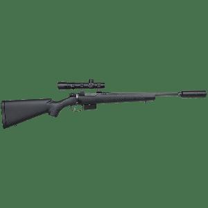 "CZ 03086 CZ 527 American Hunting Rifle Suppressor Ready Bolt 7.62x39mm 16.5"" 5+1 Synthetic Black Stk Black"