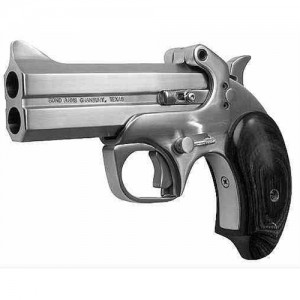 "Bond Arms Texas .22 Long Rifle 2-Shot 3"" Derringer in Stainless (Defender) - BATD"