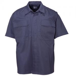 5.11 Tactical TDU Men's Uniform Shirt in Dark Navy - 3X-Large