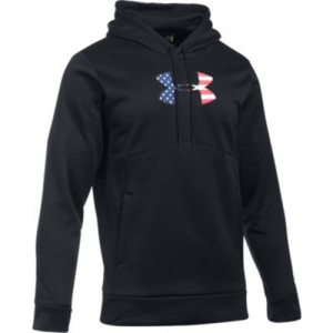 Under Armour Freedom Storm BFL Men's Pullover Hoodie in Black - Large