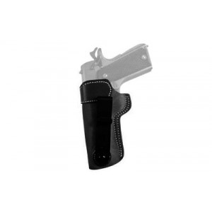 Desantis Gunhide 106 Sof-Tuk Right-Hand IWB Holster for Ruger LCP in Black Suede Leather (W/ Crimson Trace) - 106NAT7Z0