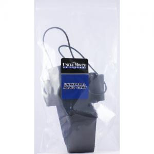 Universal Radio Case  Universal Radio Case Kodra Black w/Fixed Belt Loop, Card