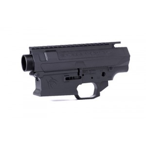 Spike's Tactical Billet Upper/lower Receiver Set, 308 Win, Black Finish, Livewire Lower, Includes Pivot Pin, Takedown Pin, Bolt Catch Stsbx10