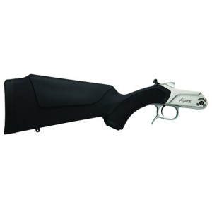 CVA Apex Muzzleloader Frame Stainless Steel & Black Synthetic Stock Finish AC4010S