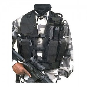 Blackhawk Tactical Vest in Nylon Black - One Size Fits Most