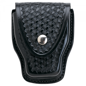 508 Handcuff Case Finish: Basket Weave Option: Brass Snaps