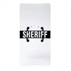 Capture Shield w/ Ambidextrous Handle, 24  X 48    Clear