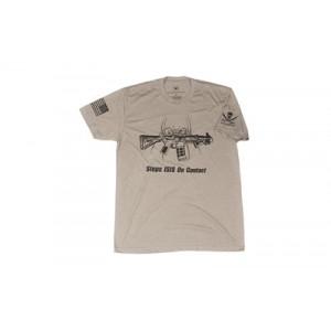 Spike's Tactical Stops ISIS Men's T-Shirt in Gray - Medium