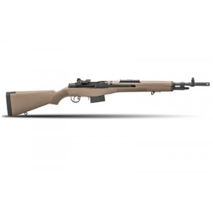 "Springfield M1A Scout Squad .308 Winchester 10-Round 18"" Semi-Automatic Rifle in Blued - AA9120"