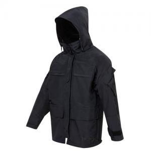 Tru Spec H2O Proof LE Parka Men's Full Zip Coat in Black - X-Large