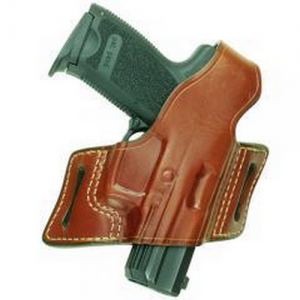 "Aker Leather 133 White Lightning Right-Hand Belt Holster for Smith & Wesson 31 in Tan (2"") - H133TPRU-SMALL"