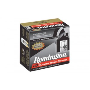 Remington Ultimate .40 S&W Brass Jacket Hollow Point, 180 Grain (20 Rounds) - HD40SWBN