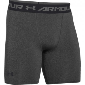 Under Armour Armour Heatgear Men's Underwear in Carbon Heather/Black - Small