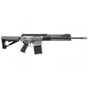 """Patriot Ordnance Factory P308 .308 Winchester/7.62 NATO 20-Round 16"""" Semi-Automatic Rifle in NP3 Coating - 604"""
