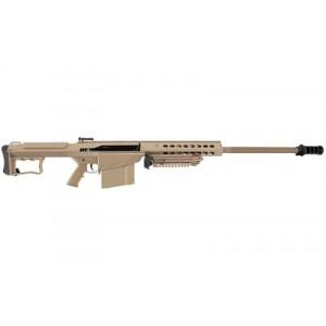 "Barrett M107a1, Semi-automatic, 50bmg, 29"" Fluted Barrel, Flat Dark Earth Finish, Synthetic Stock, 10rd, Bipod 14559"