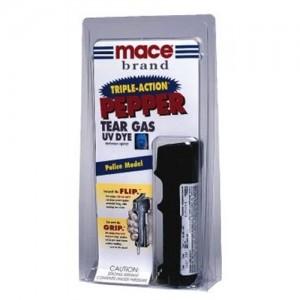 Mace Security International CN Tear Gas/OC Pepper/UV Dye w/Keychain 18 Grams 80112