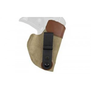 Desantis Gunhide 106 Sof-Tuk Left-Hand IWB Holster for Ruger LC9 in Tan Suede Leather - 106NBV5Z0