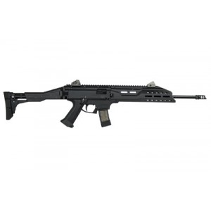 "CZ Scorpion EVO 3 S1 9mm 10-Round 16.2"" Semi-Automatic Rifle in Black - 08506"