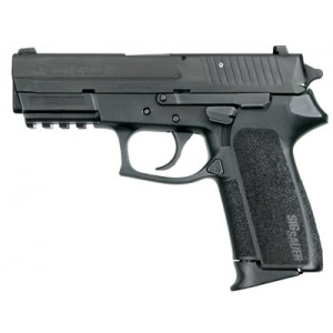 """Sig Sauer SP2022 Full Size CA Compliant 9mm 10+1 3.9"""" Pistol in Black Nitron (4 Point Safety) - SP20229BCA"""