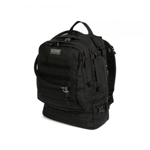 Barrage Pack BLACK  Barrage Black 1000 denier nylon and extreme sewing techniques to ensure durability 3D mesh back panel with frame External hydration reservoir access Numerous internal pockets and storage options Dual antenna ports Robust waist belt wit