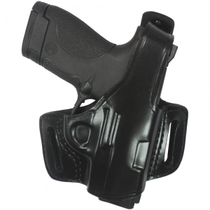 Belt Slide Holster With Thumb  Belt Slide Holster With Thumb Break Black Finish Fits most 1911-type pistols with 3 to 5 bbl incl. COLT Defender, Officers, Commander, Gold Cup, Govt; KIMBER Compact, Custom, Pro, Ultra; PARA-ORDNANCE (all); SPRINGFIELD 1911