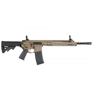"LWRC IC-A5 .223 Remington/5.56 NATO 30-Round 16.10"" Semi-Automatic Rifle in Flat Dark Earth (FDE) - ICA5R5CK16"