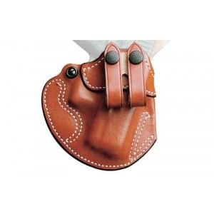 Desantis Gunhide 28 Cozy Right-Hand IWB Holster for Glock 29, 30/Beretta 9000S/Heckler & Koch P2000/Smith & Wesson M&P Compact in Tan Leather - 028TAE8Z0
