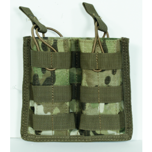 M4/M16 Open Top Mag Pouch w/ Bungee System Color: Multicam Magazine Capacity: Double