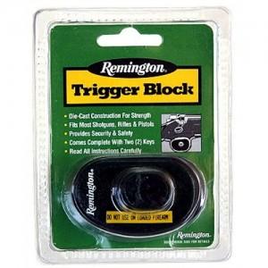 Remington Trigger Block Lock w/Remington Logo 18491