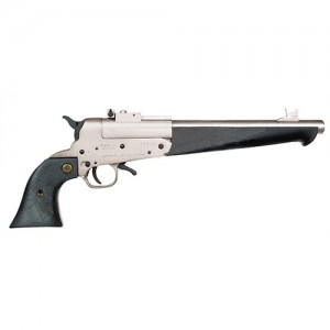 """Comanche Super Comanche .410/.45 Long Colt 1-Shot 10"""" Revolver in Nickel - SCP60000"""