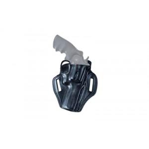 """Galco International Combat Master Right-Hand Belt Holster for Smith & Wesson 686 in Black (2.5"""") - CM102B"""