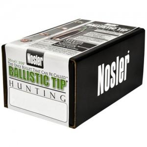 Nosler Spitzer Hunting Ballistic Tip 30 Cal 180 Grain 50/Box 30180