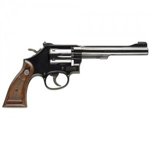 """Smith & Wesson 17 .22 Long Rifle 6-Shot 6"""" Revolver in Blued (Masterpiece) - 150477"""