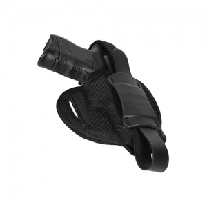 """Blackhawk Pancake  Right-Hand Pancake  Holster for Small 5-Shot Revolvers in Black (2"""") - 40PC36BK"""