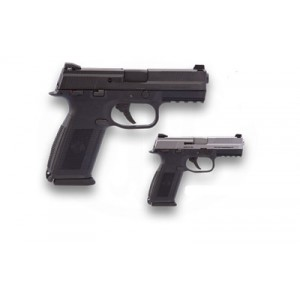 "FN Herstal FNS-9 Compact 9mm 10+1 4"" Pistol in Black (Manual Thumb Safety) - 66694"