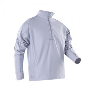 Tru Spec 24-7 Grid Men's 1/4 Zip Jacket in Smoke - Small