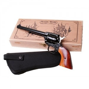 """Heritage Rough Rider Small Bore .22 Long Rifle 6-Shot 6.5"""" Revolver in Blued - RR22MB6BXHOL"""
