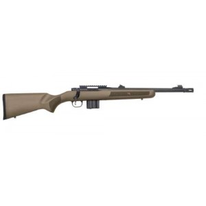 "Mossberg MVP Patrol .223 Remington/5.56 NATO 10-Round 16.25"" Bolt Action Rifle in Matte Blued - 27709"