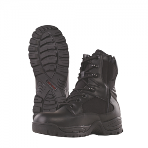 TruSpec - 9  Side Zip Tac Assault Boot Color: Black Size: 10 Width: Regular