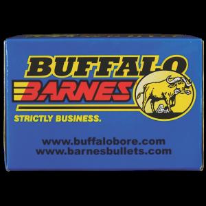 Buffalo Bore Ammunition Buffalo-Barnes Lead Free .375 H&H Magnum Barnes Banded Solid, 300 Grain (20 Rounds) - 54B/20