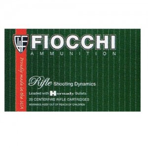 Fiocchi Ammunition .243 Winchester Pointed Soft Point, 70 Grain (20 Rounds) - 243SPB