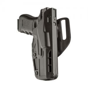 7TS ALS Mid-Ride Level I Duty Holster Finish: STX Plain Gun Fit: Glock 17 w/ ITI M3 (4.5  bbl) (MS30) Hand: Right - 7390-832-411-MS30