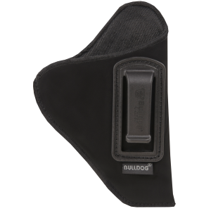 "Bulldog DIP-20 Deluxe Inside Pants Holster Sub Compact 2""-3"" Ruger LC9 Synthetic Suede Blk - DIP-20"